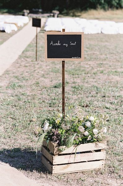 Love quotation rustic chic wedding decoration a french wedding in love quotation rustic chic wedding decoration a french wedding in the olive grove wedding in provence junglespirit Image collections