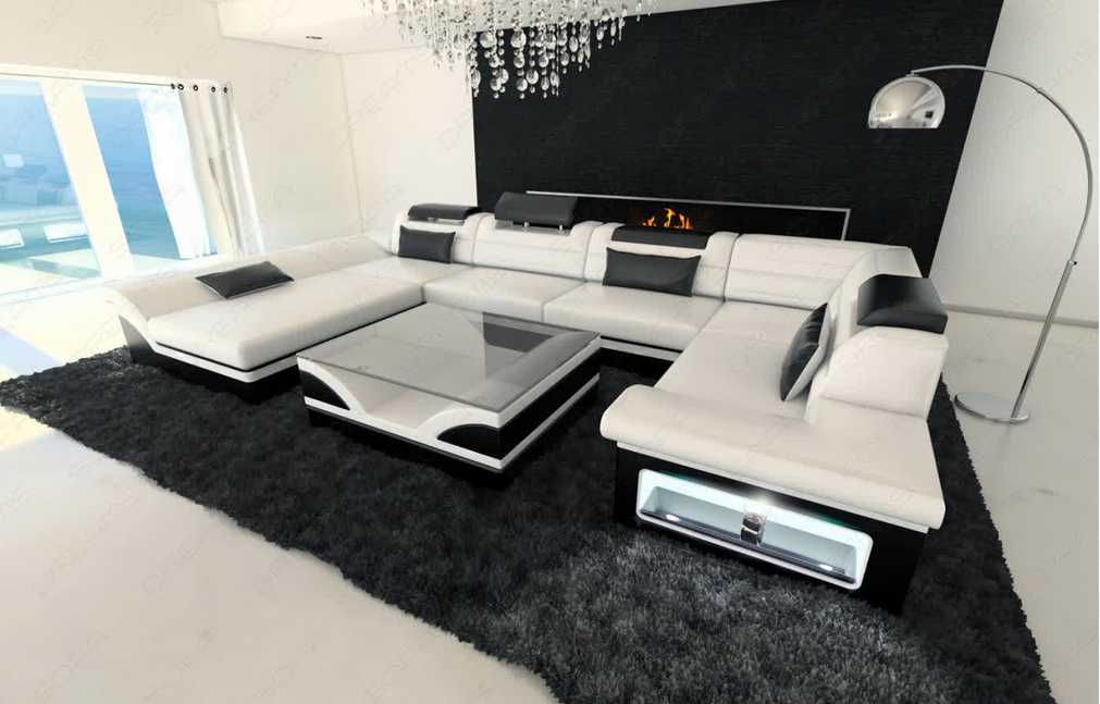 couch auf rechnung das sofa besteht aus starkem leder. Black Bedroom Furniture Sets. Home Design Ideas