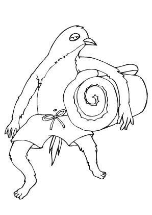 ausmalbild armer vogel zum ausmalen. ausmalbilder | ausmalbildervögel | malvorlagen |