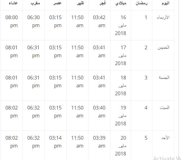 إمساكية شهر رمضان 2019 المملكة العربية السعودية Words Word Search Puzzle Math