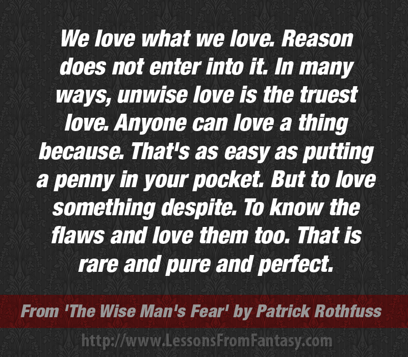 The Wise Mans Fear By Patrick Rothfuss Kingkiller Chronicle Fan