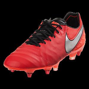 Nike Tiempo Legend 6 SG Soft Ground Soccer Cleat Pro Lt Crimson