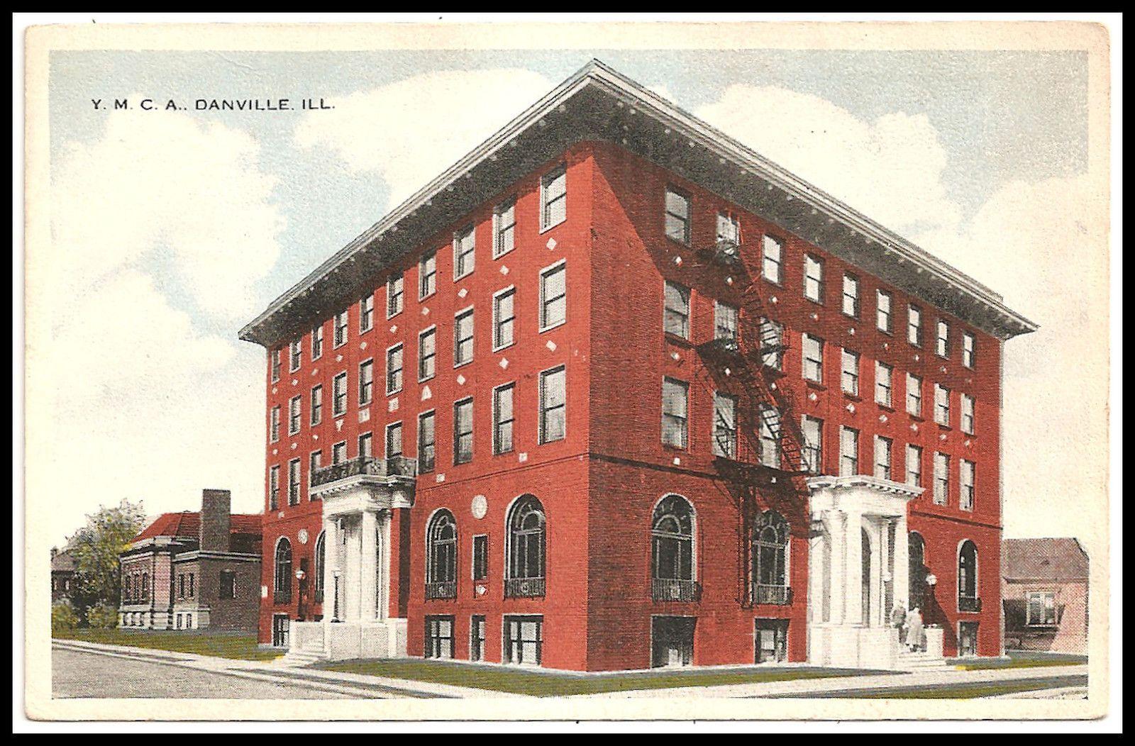 Danville Il Ymca Postcard 8271917 Danville Illinois