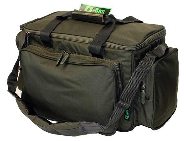 DEAL ENDED Standard Green Insulated Carryall - New & Improved - 40% Off - Save   £13. For the next 3 Days only get this waterproof, insulated carryall with padded handles, main compartment + 3 external pockets and transport your tackle in style!  Was £24.99, Now Only £11.99!!