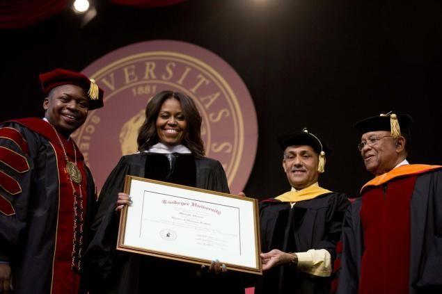 Michelle Obama addresses Tuskegee University graduates Michelle - michelle obama resume