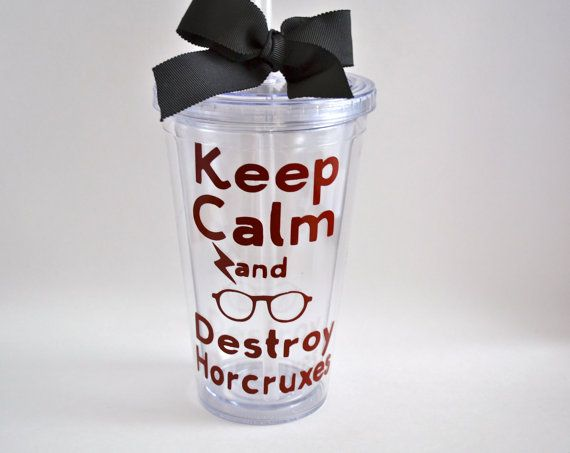 Custom Tumbler  Harry Potter Theme  Keep by FrillsAndFlairGifts, $12.00