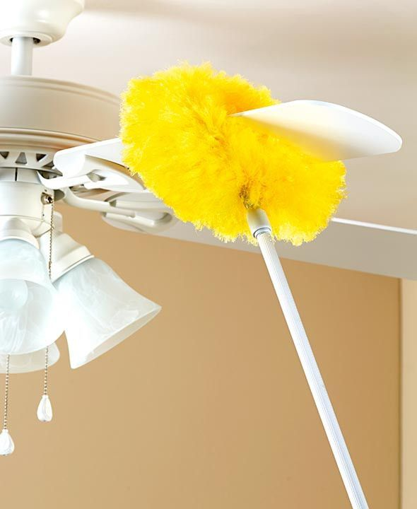 Telescopic ceiling fan duster extendable 36 58 lightweight long aloadofball Images