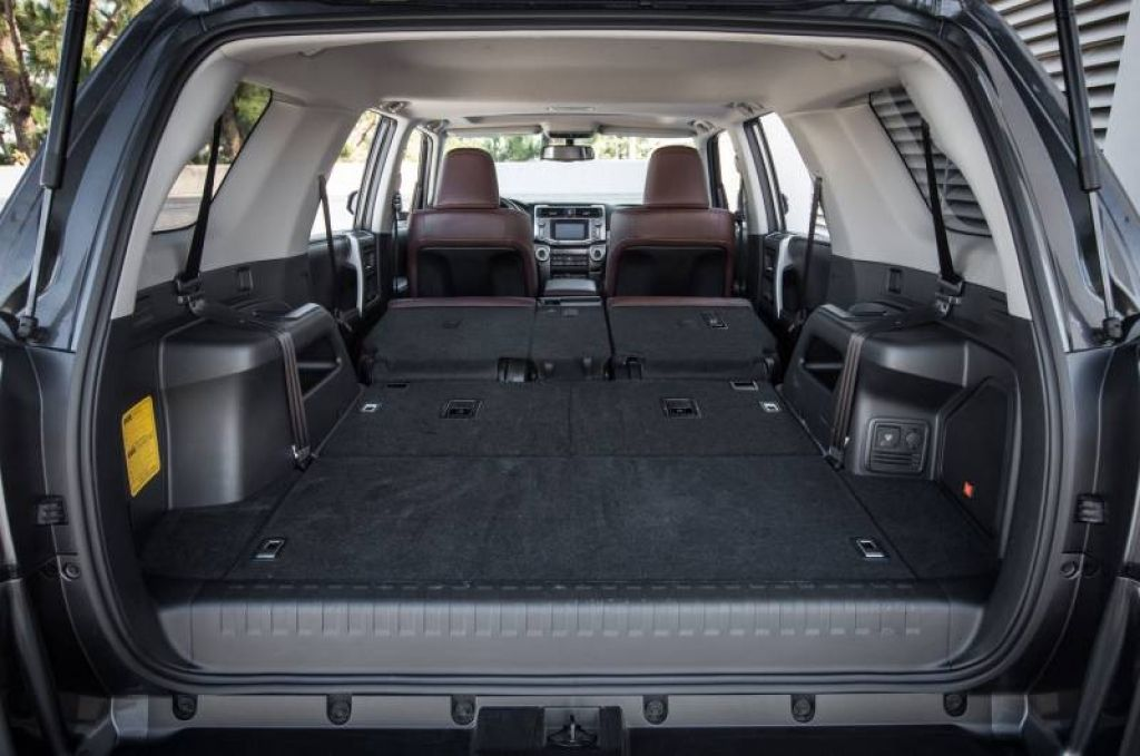 Perfect 2017 Toyota Highlander Trunk Cargo Space