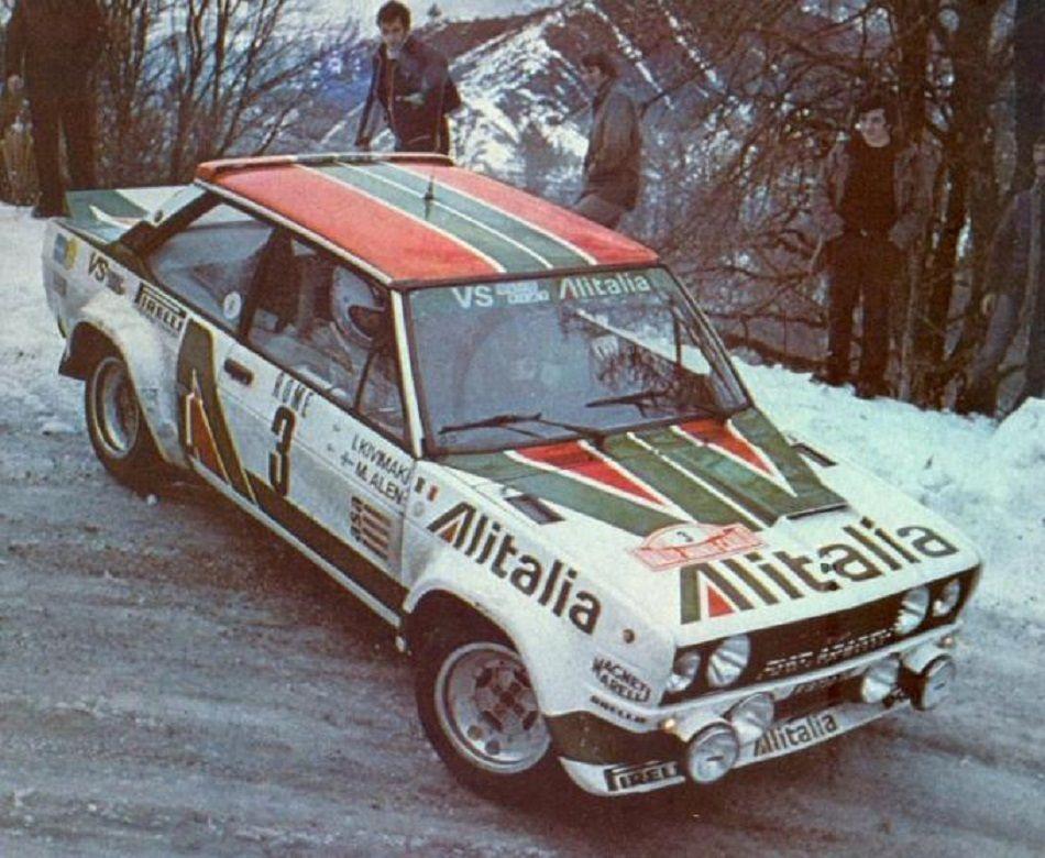 Markku Alen Fiat 131 Abarth Rally 1979 Alitalia Livery With