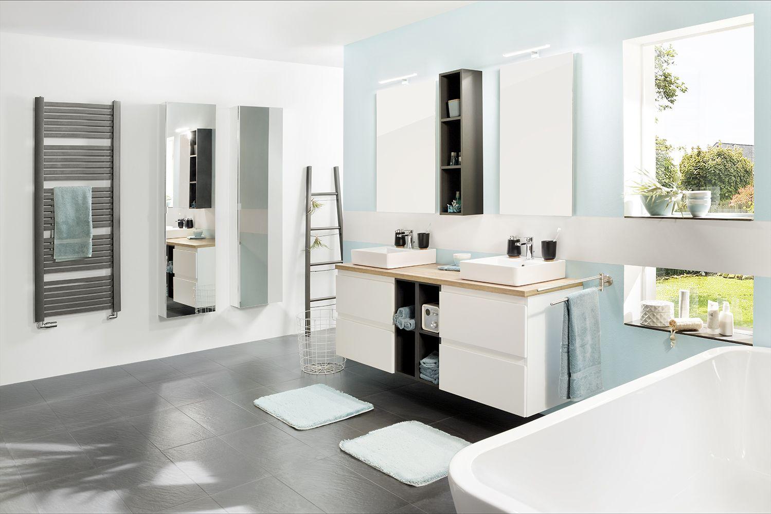 Studio3001 Fotografie Werbefotografie Interieur Badezimmer Bad Doppelwaschtisch Badmobel Pastellblau Babyblau Interieur Pastellblau Doppelwaschtisch