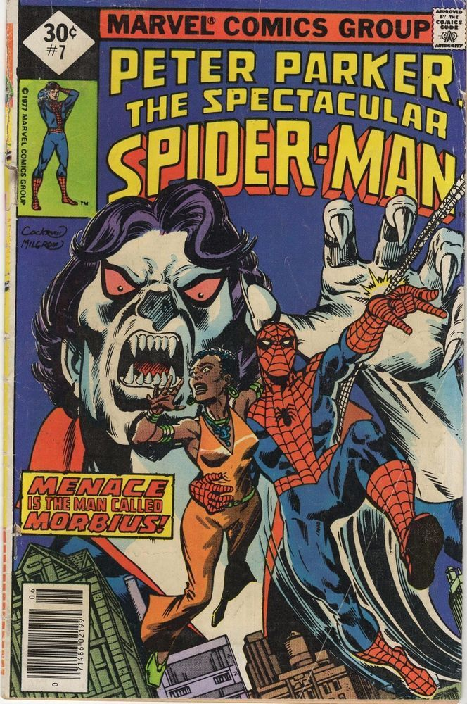 Marvel Comic Group: The Spectacular Spider-Man Vol  1 no 7
