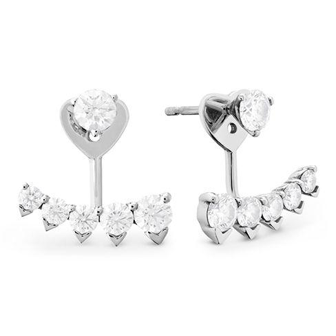 Diamond earring jackets #heartsonfire #diamonds #jackets
