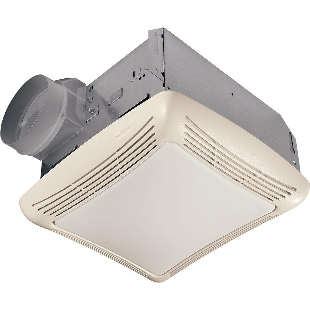Broan Nutone 70 Cfm Ceiling Bathroom Exhaust Fan With Light White Grille And Light 769rl The Home Depot Bath Fan Bathroom Ceiling Exhaust Fan Bath Exhaust Fan