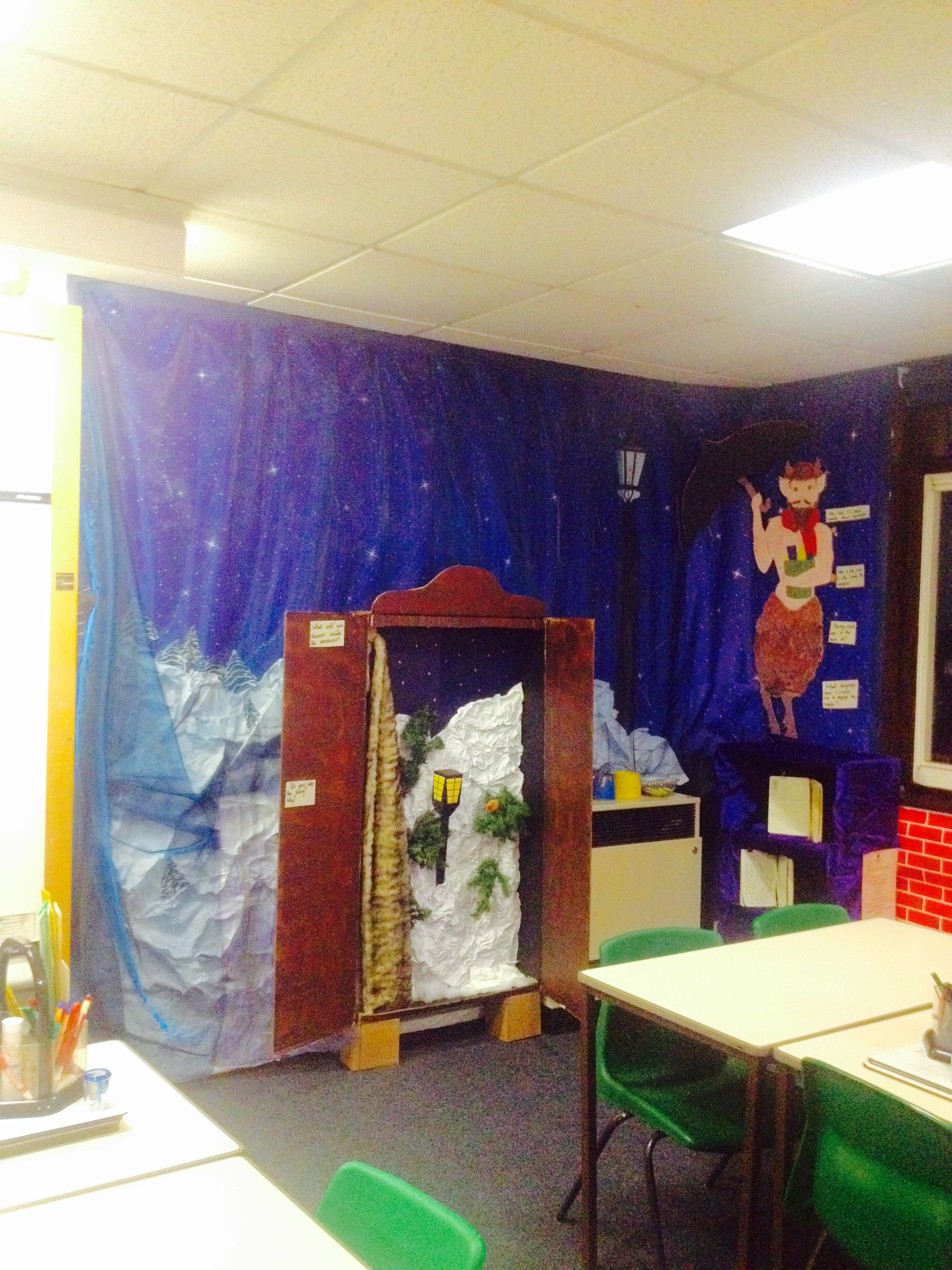 My Narnia Classroom Display Classroom Theme Narnia