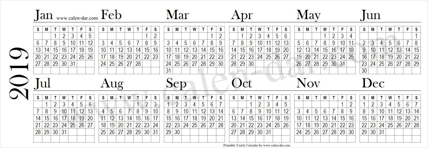 2019 Calendar By Month 2019 Calendar Pinterest Calendar, 2019