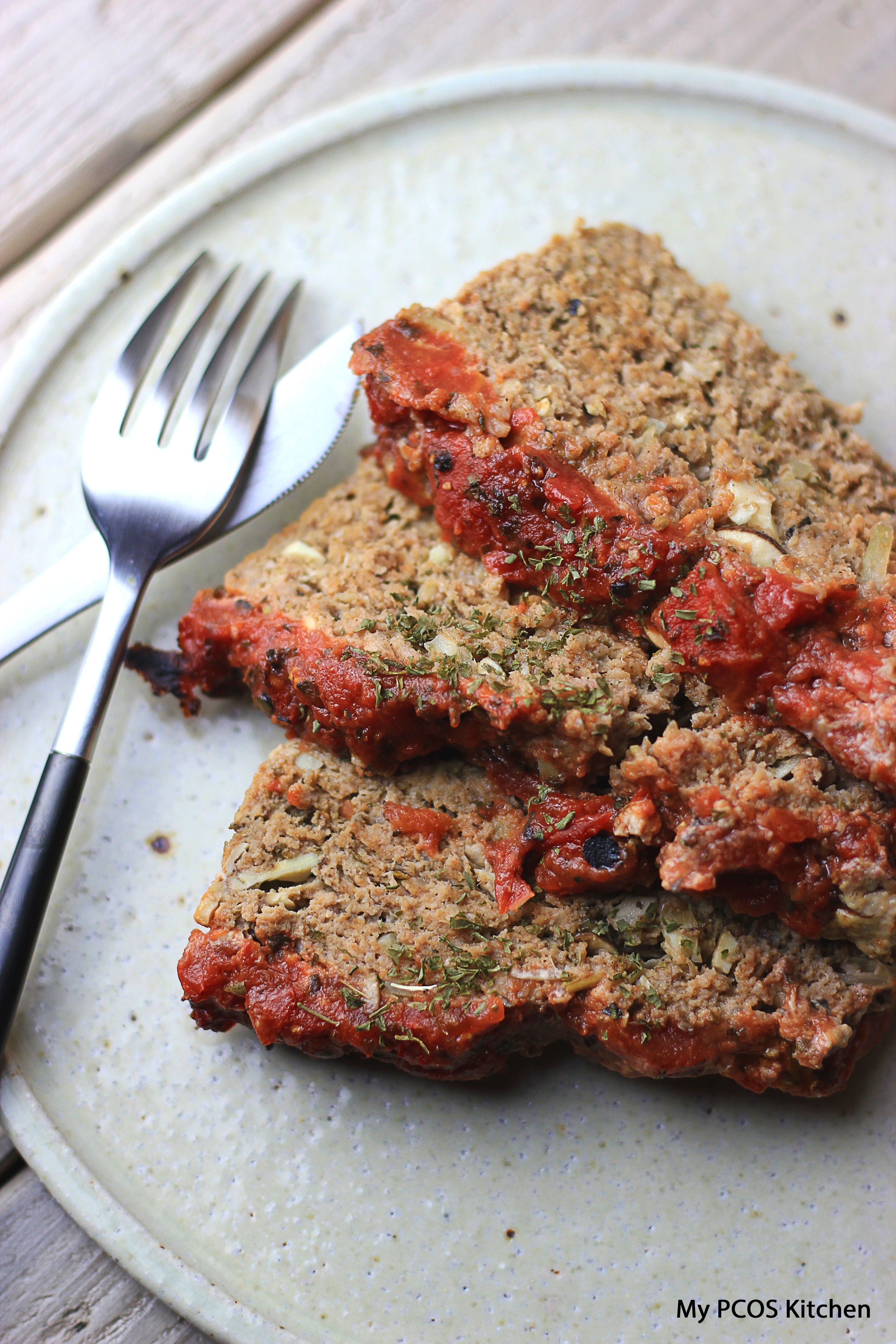 Keto Paleo Meatloaf (Low Carb Glutenfree Dairyfree