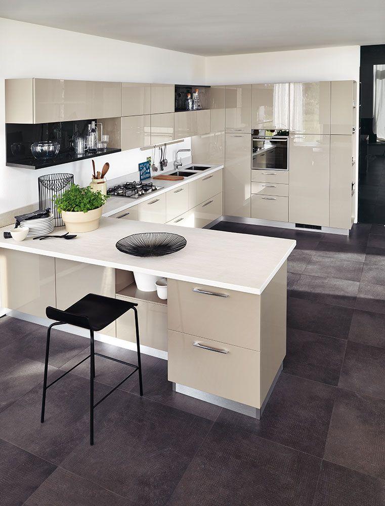 Cucine open space con penisola cucine moderne cucine e for Interni e design