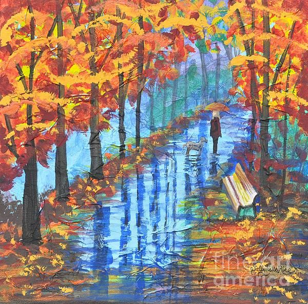 "Empty Bench 12""x12"" Acrylic  Gallery Stretched Canvas  $220.00 http://sallytiskarice.com/STR/Welcome.html"
