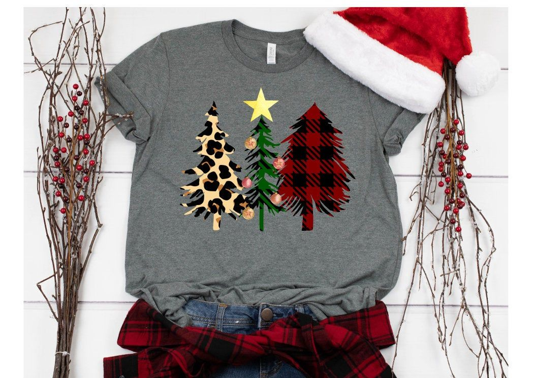 Christmas Sublimation Christmas Tree Sublimation Dtg Etsy In 2020 Print Clothes T Shirt World Christmas Tee Shirts