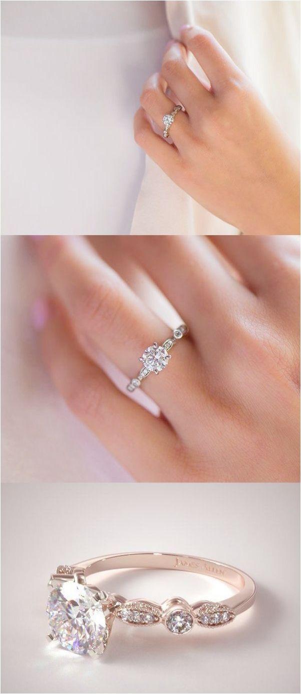 Vintage Engagement Ring Cushion Cut Antique Emerald Cut Engagement ...
