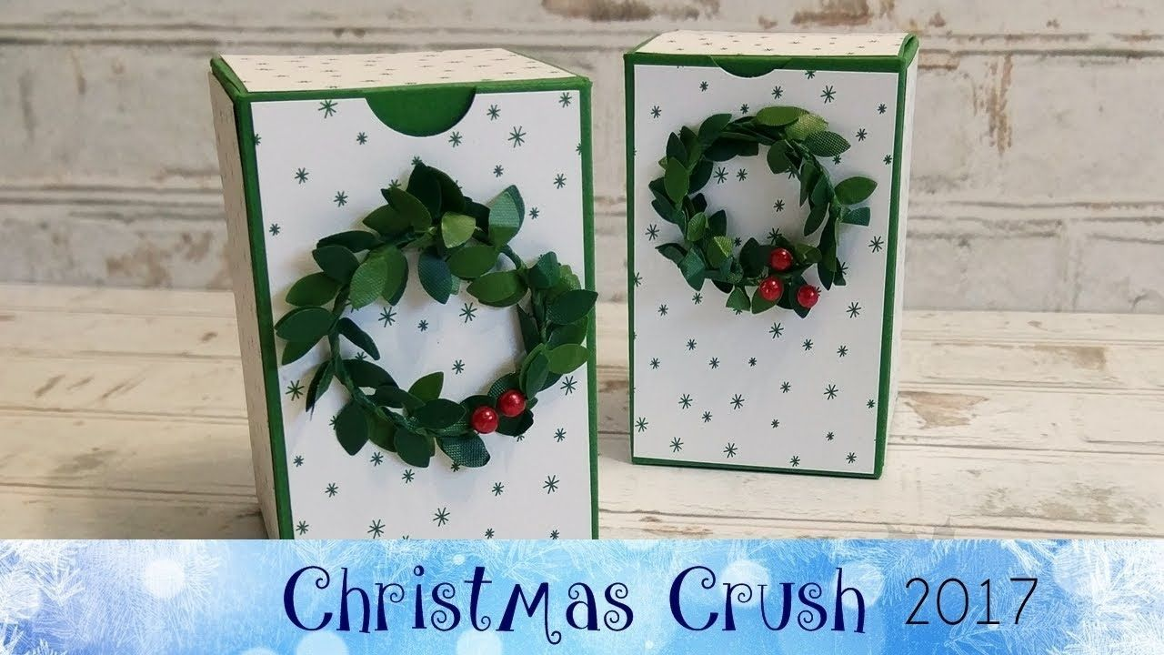 Boxwood Wreath Box featuring Stampin' Up!® Products