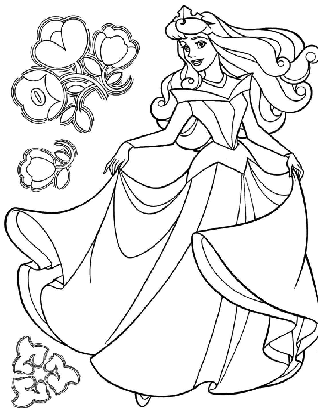 Wonderful Cinderella Coloring Pages Ideas