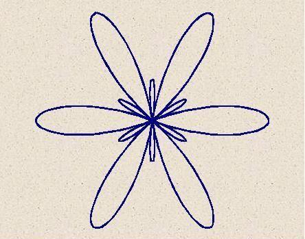 spirograph for finger tattoo
