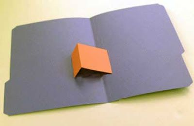 Libros Pop-Up Books Cards: mecanismo Cubo