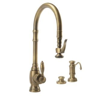 1 968 Tuscan Brass Annapolis Kitchen Faucet Single Handle With
