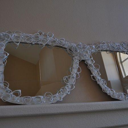 Reuse-eyeglasses-mirror | Eyewear Recycled | Pinterest | Reuse ...