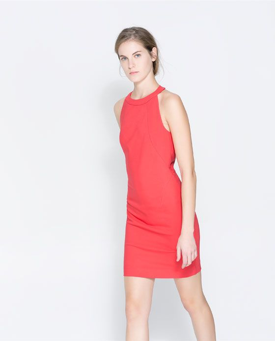 ZARA - WOMAN - HALTER NECK DRESS