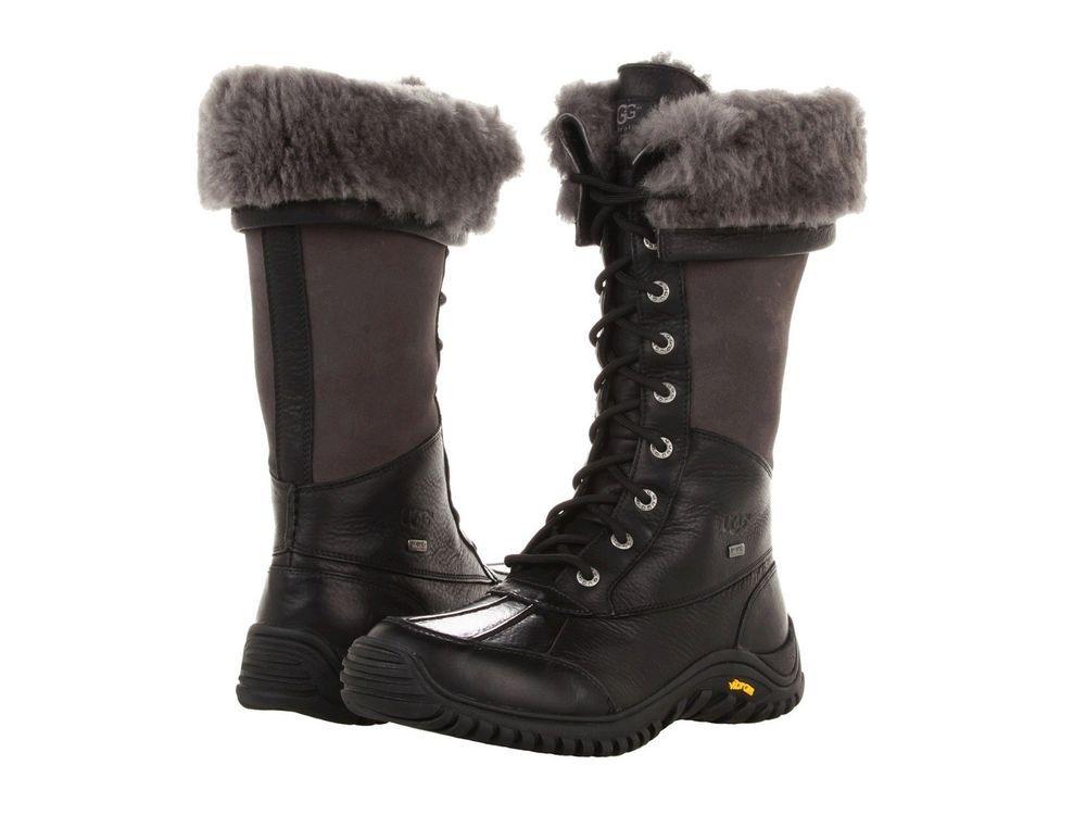 9b2f3f0705c New $295 UGG Australia Adirondack Tall Shearling Lace up Boots 6.5 ...