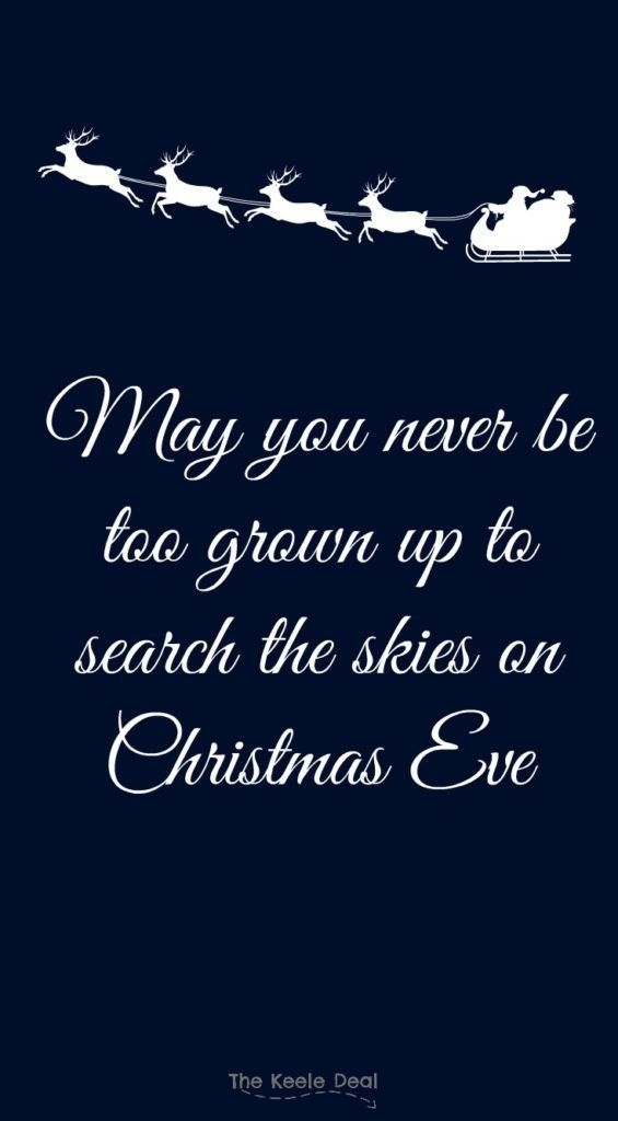 Christmas Quote In Black And White