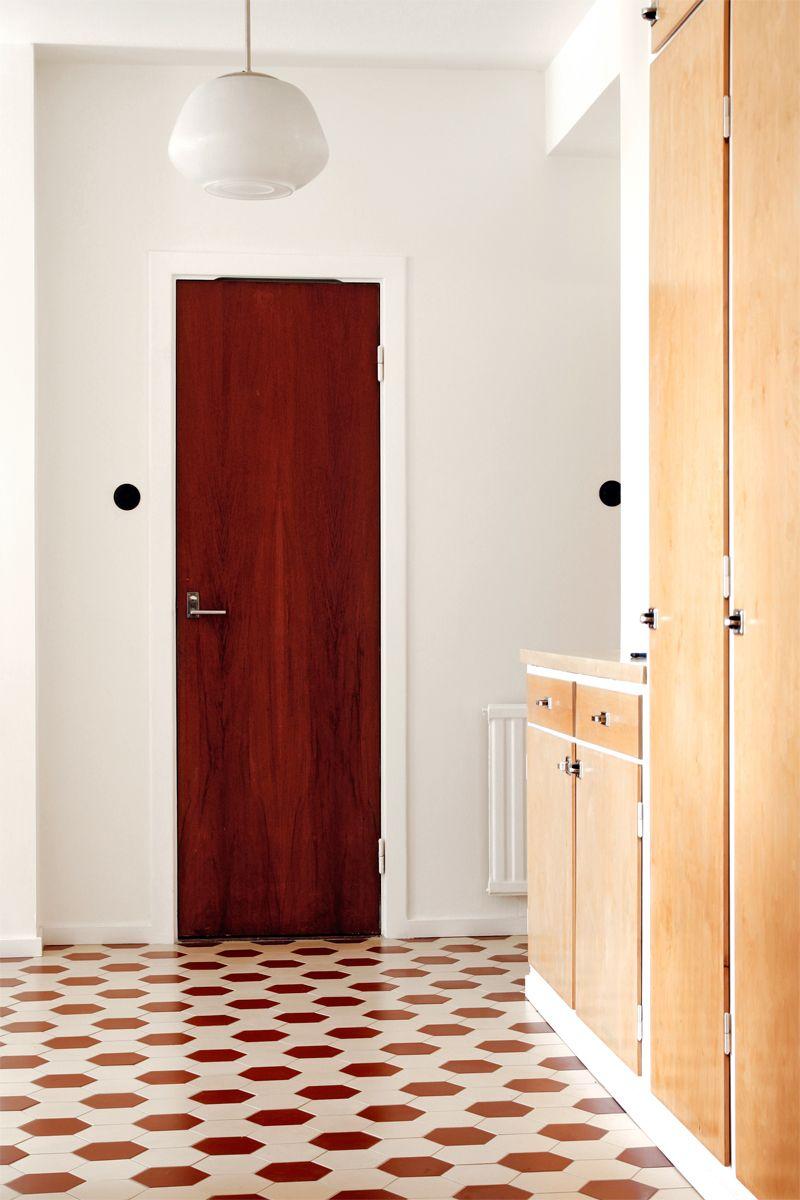 """50'ies style, Victorian floor tiles """"Barcelona"""": http://www ..."""