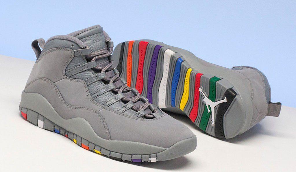 249989227cc 2018-Air-Jordan-10-Cool-Grey | Sneakers n Stuff in 2019 | Air ...