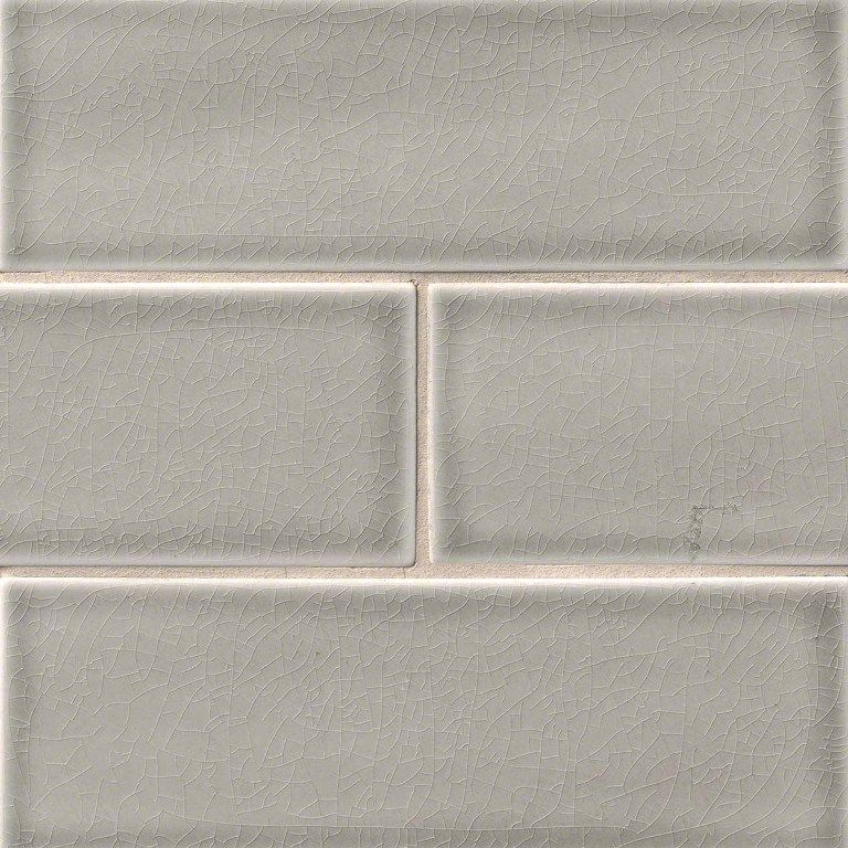 Best Dove Gray 4X12 Glazed Handcrafted Subway Tile Grey 640 x 480