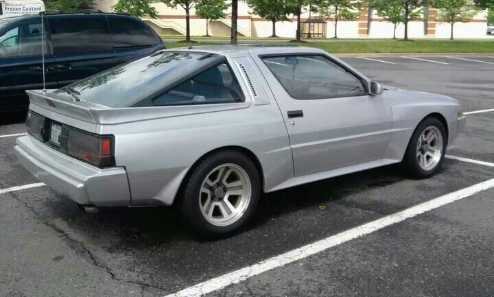 Chrysler Conquest Mitsubishi Starion A Car I Wanted Since I Was