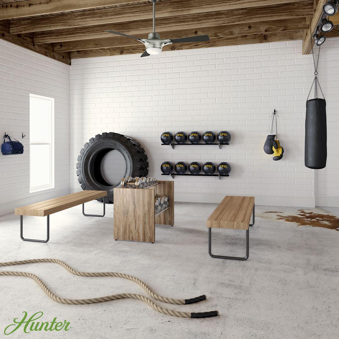 Garage ceiling fan ideas to best utilize your space | Hunter fan blog