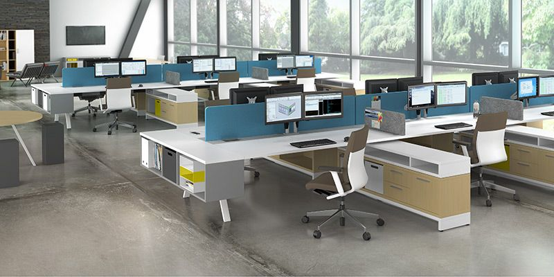 Awesome Crest Office Furniture Has Been Provide Los Angeles Cubicles For Over 50  Years. Call Us For Expert Help. Workstations And Cubicles For Any Budget.
