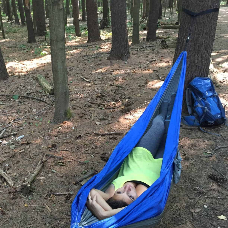 the rispoli u0027s customer review on serac ultralight camping hammock the rispoli u0027s customer review on serac ultralight camping hammock      rh   pinterest