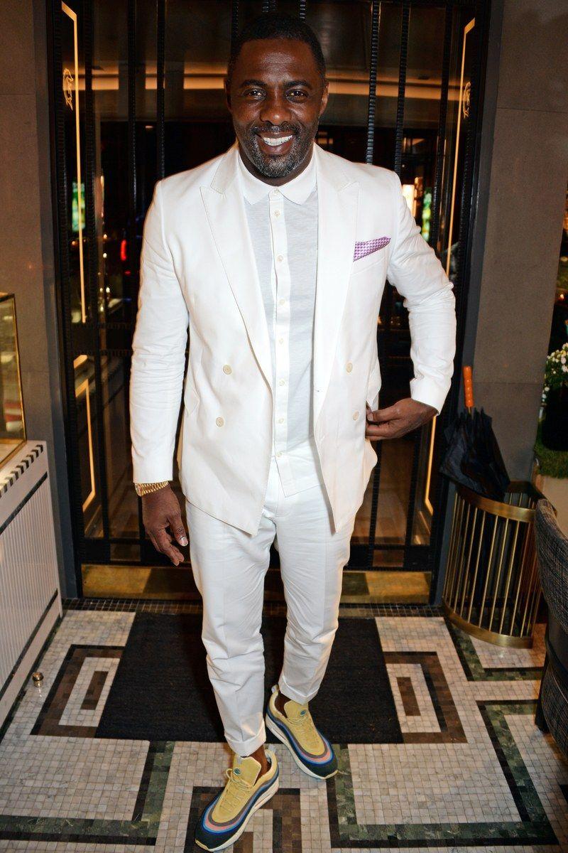 ea1eaf60842b Idris Elba  At the ABB Formula E Qatar Airways Paris E-Prix after-party in  Paris April 28