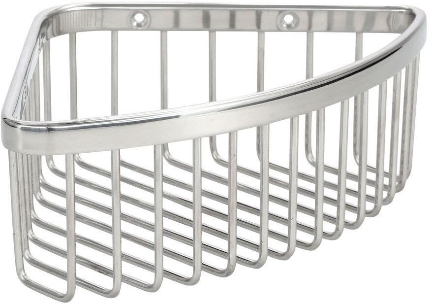 KOHLER Medium Polished Stainless Metal Wire Shower Caddy Storage ...