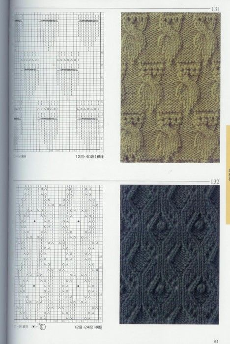 Lovely Knitting Patterns | Tricot Points | вязки узоры | patrones ...