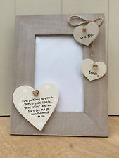 Birthday Shabby personalised Chic Photo Frame Gift For A Special Friend .