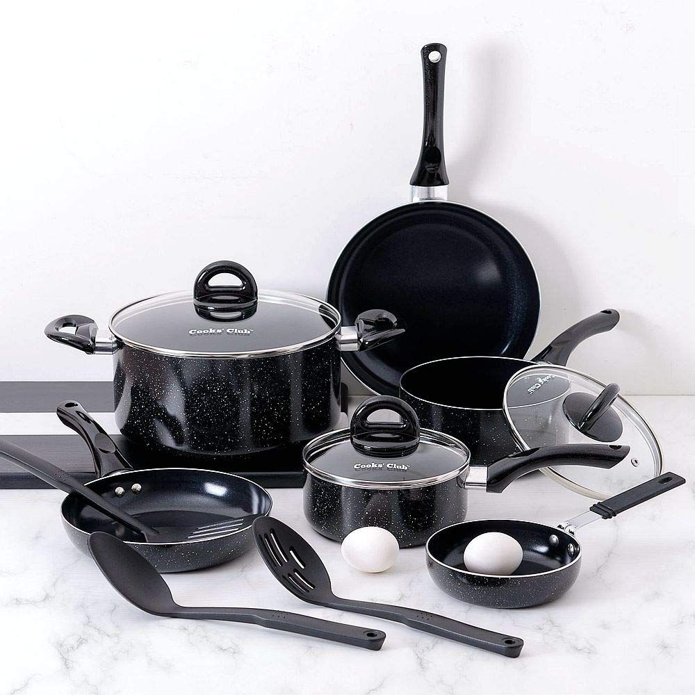Cookwareset Kitchensupplies Nonstick Pots Pans Provides Safest