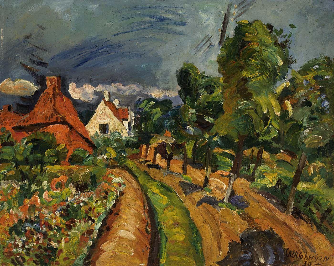 Danish roadside william h johnson