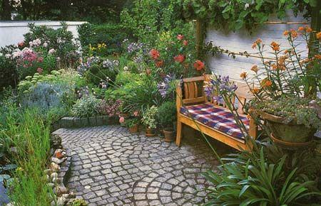 Красивый маленький сад 15