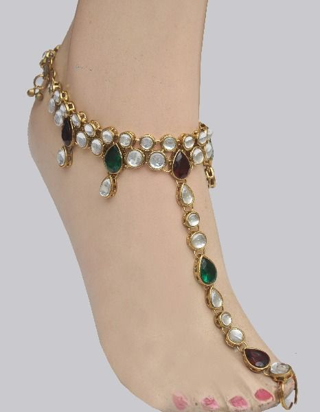 Fashion Jewelry Jewelry & Watches Helpful White Indian Bollywood Anklet Women Jewelry Adjustable Bridal Boho Foot Payal Online Shop