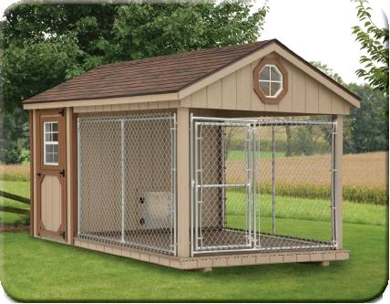 Backyard Kennel Ideas