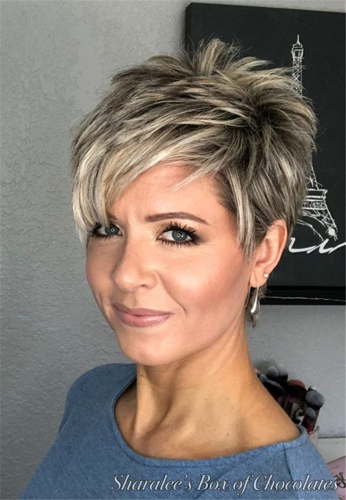 50 Sweet And Stylish Short Pixie Haircuts Or Hairstyles You Should Try This Summer - Page 8 of 50